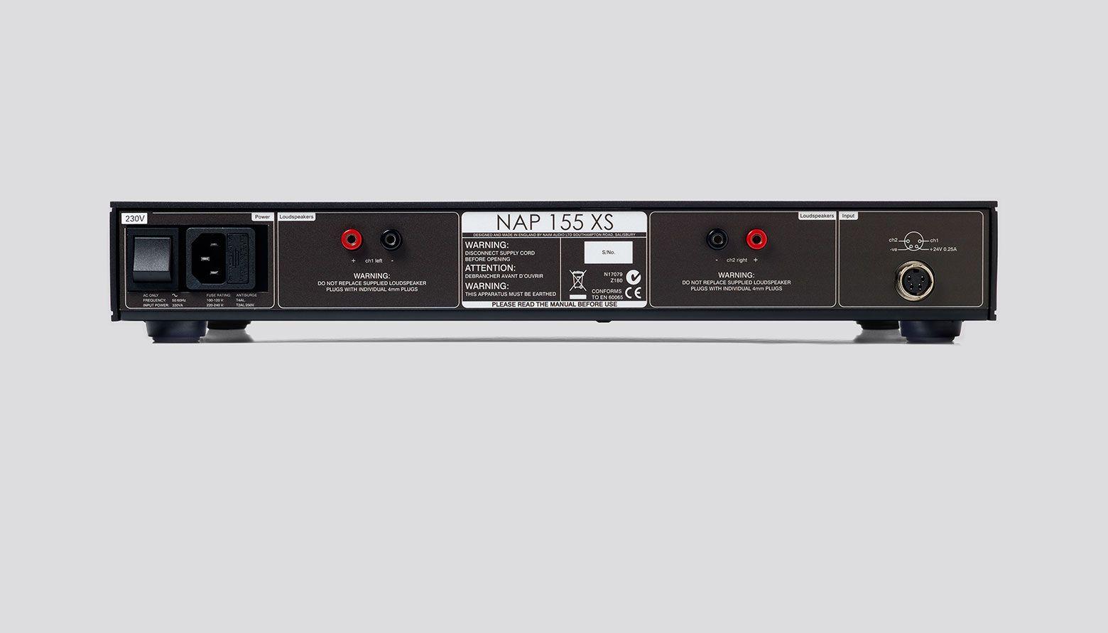 Naim NAP 155 XS Power Amplifier