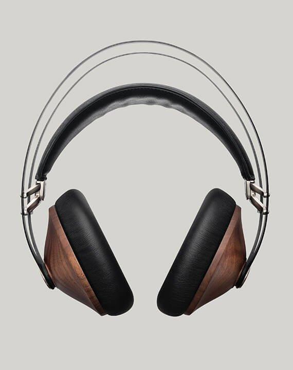 Seattle Meze Audio 99 Classics Walnut Silver headphones authorized dealer front