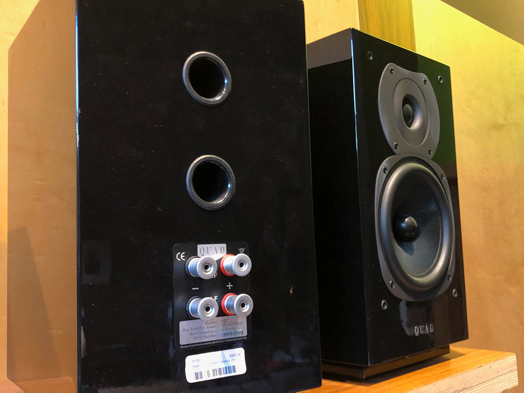 seattle used quad 12L speakers at tune-hi-fi