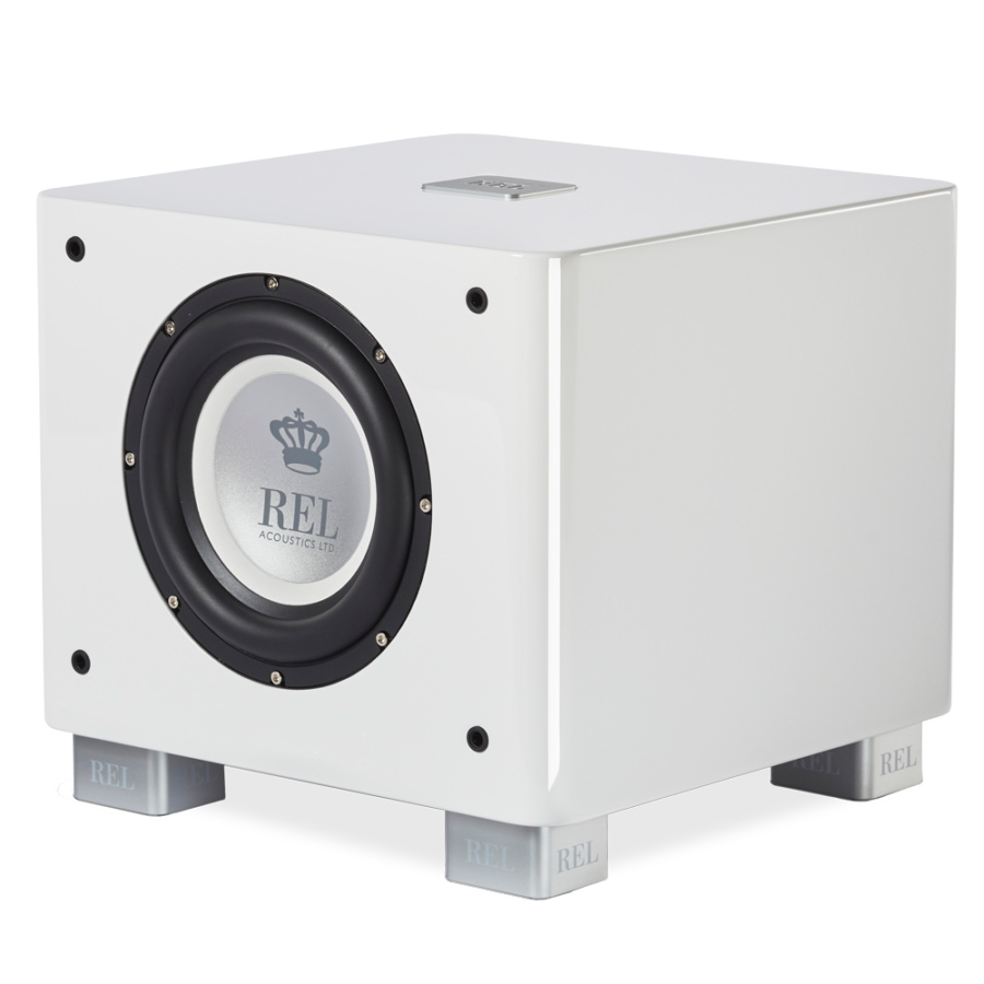 Seattle REL T7x subwoofer white 34 view